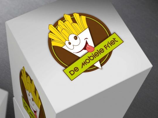Logo De Mobiele Friet