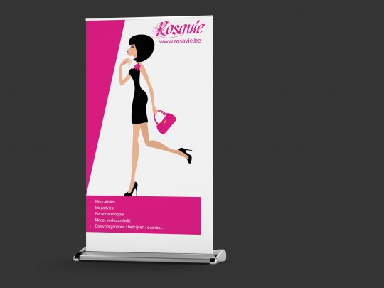 Roll-up Rosavie