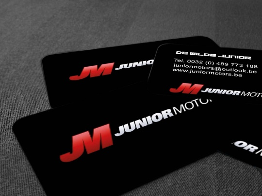 Visitekaartjes Junior Motors