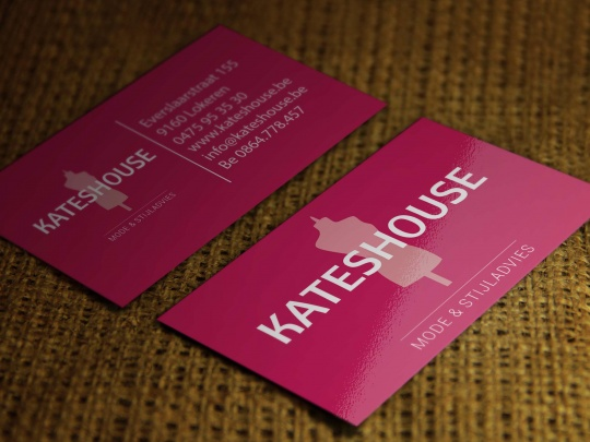 Visitekaartjes Kateshouse