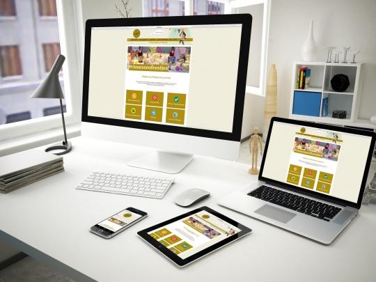 Mockup Celebrate Website