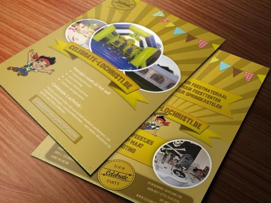 Mockup Flyer Celebrate