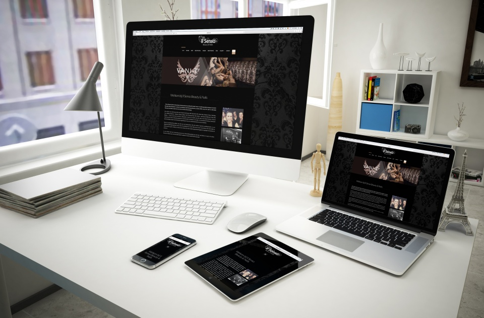 Mockup ilsenso Website