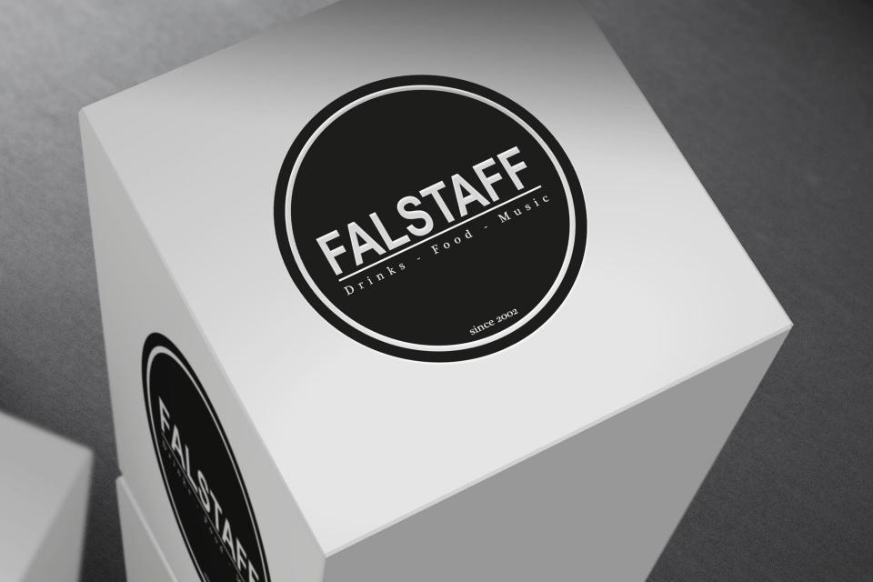 Mockup Logo Falstaff