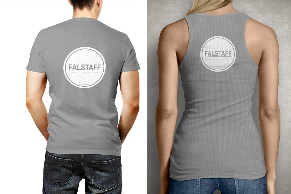 Mockup T-Shirts Falstaff